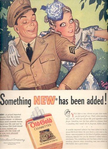 14 April 1941 worldwartwo.filminspector.com Old Gold cigarets