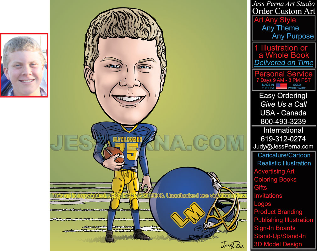 sports caricatures and cartoon gifts and ads sports caricatures