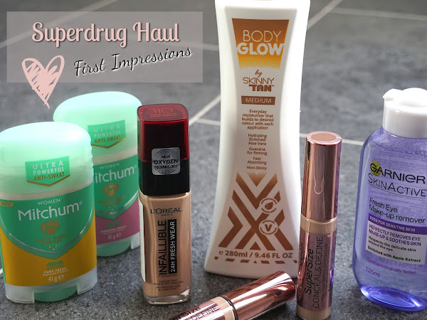 Superdrug Haul | First Impressions