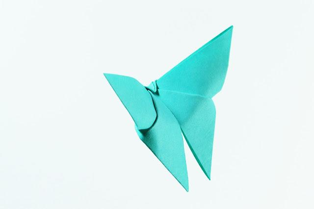 3 Cara Melipat Origami Kupu-Kupu