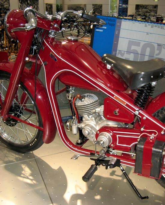 Honda Type-D (left)