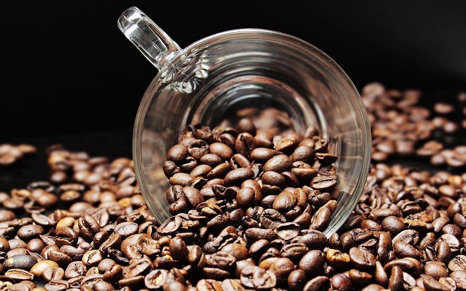 Domowa maskana ciało z kawą