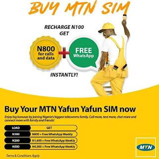 MTN Yafun Yafun bonus