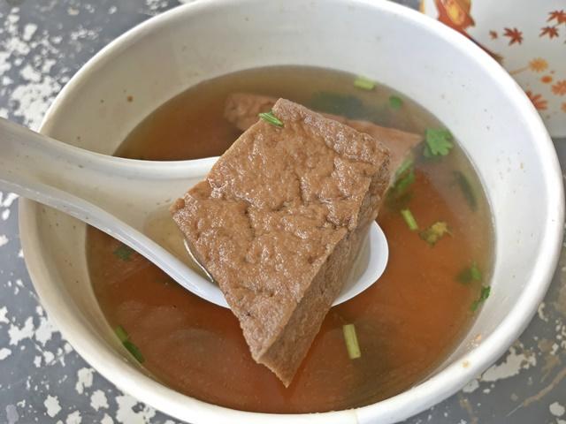 早安素油豆腐湯