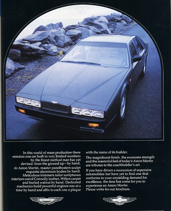 Saved From The Paper Drive: Aston Martin Lagonda