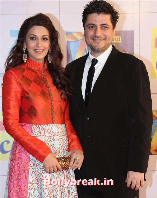 Sonali Bendre and Goldie Behl, Zee Cine Awards 2014 Red Carpet Pics