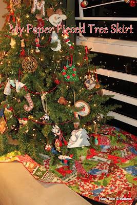 Sewing Tutorial Christmas Tree Skirt