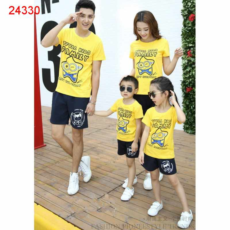 Jual Couple Keluarga Family Minion Star - 24330