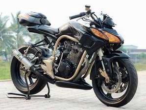 modifikasi sepeda motor honda