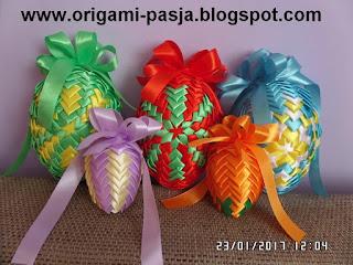 wielkanoc, wstązka, alleluja, świeto, niebieski, żółty, pomarańcz, rękodzieło, handmade
