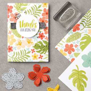 Botanicals For You zena kennedy stampin up demonstrator
