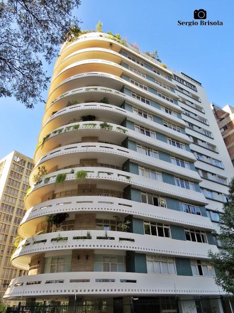 Vista ampla do Edifício Domus - Higienópolis - São Paulo