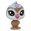 Littlest Pet Shop Series 2 Teensie Special Collection Cocoalee Pengwen (#2-41) Pet