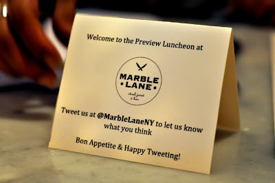 Marble Lane Preview Luncheon in New York, NY - Photo by Taste As You Go