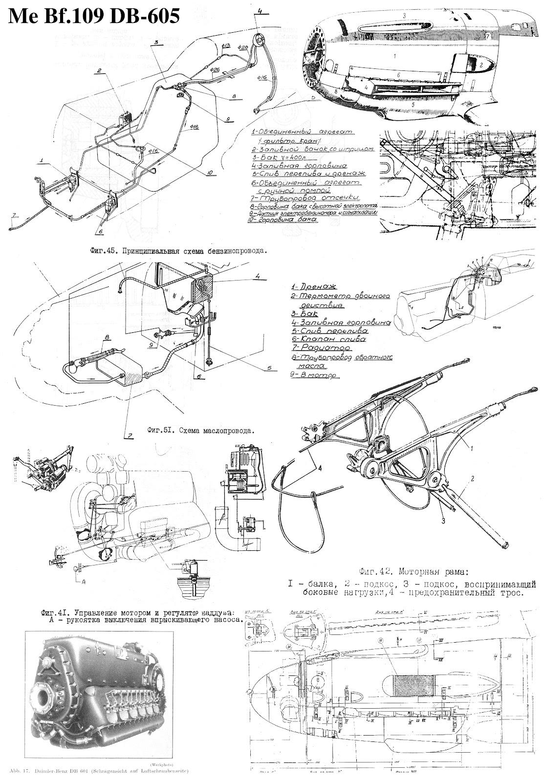 Tant Blog 5 Daimler Benz Mercedes Db 601 605