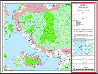 Judul peta, Skala peta,  Arah utara, Luas areal, Legenda/Keterangan, Dasar pembuatan peta, Sumber Data, Pembuat Peta, Peta Situasi, Angka koordinat geografis dan angka UTM