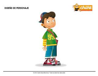 diseño de personaje CANAM