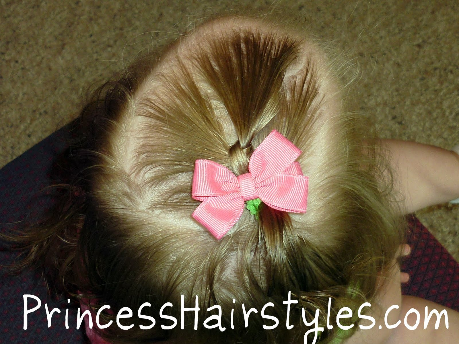 Toddler Hair Style: Toddler Hairstyles, Quick Ponytail Knot