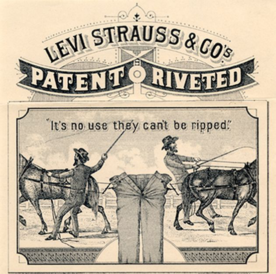 First Versions: Levi Strauss & Co. (blue jeans)