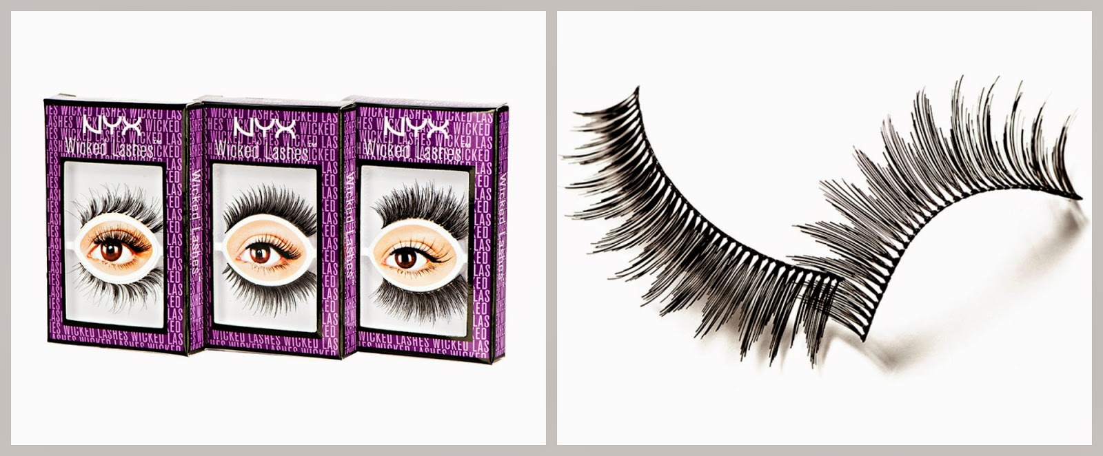cdc67ef406f NEW! NYX Wicked Lashes |Gussy Up!