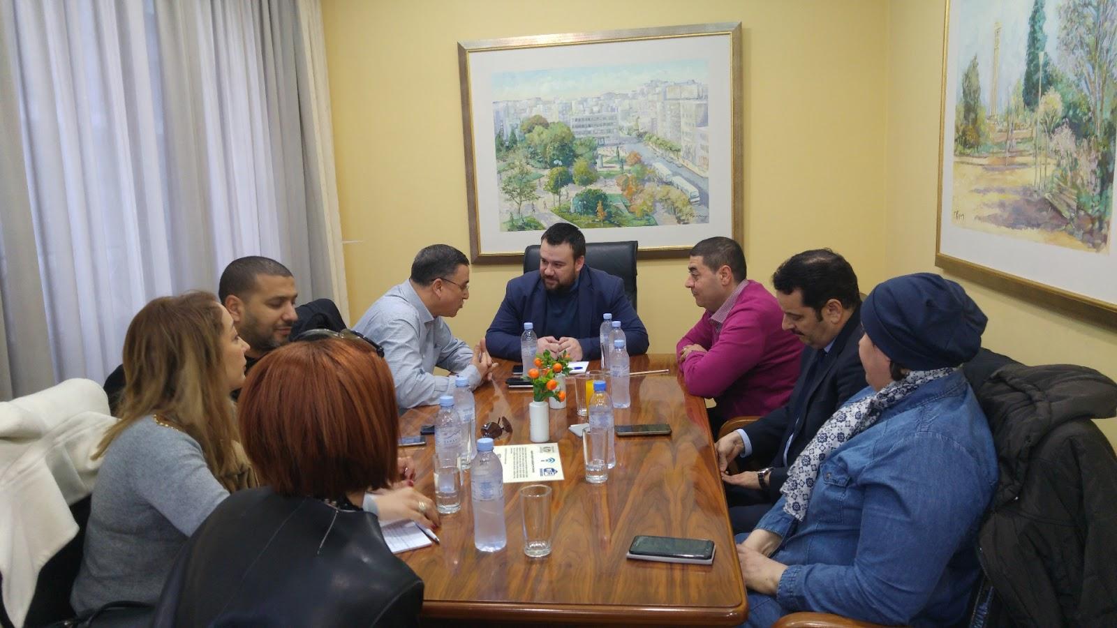Συνάντηση της Διοίκησης του Επιμελητηρίου Λάρισας με εκπροσώπους Πανεπιστημίων από την Τυνησία