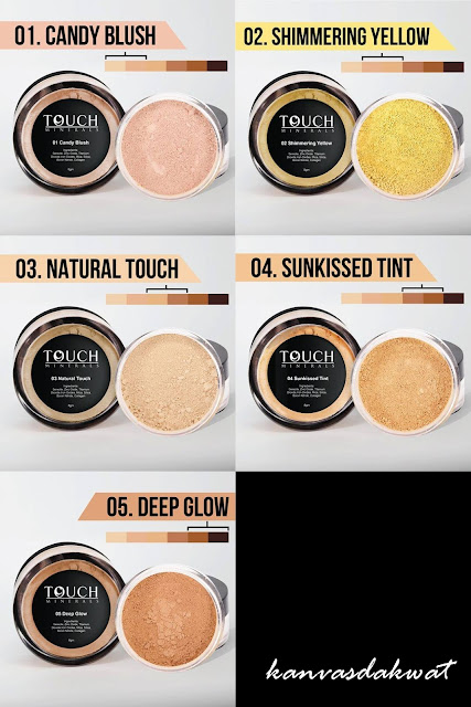 Selesa Guna Touch Minerals Loose Powder & Foundation