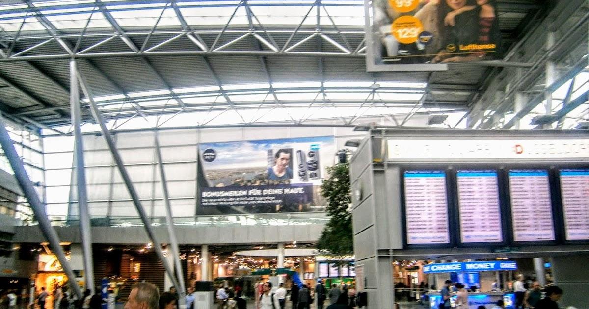 Flughafen Düsseldorf Post
