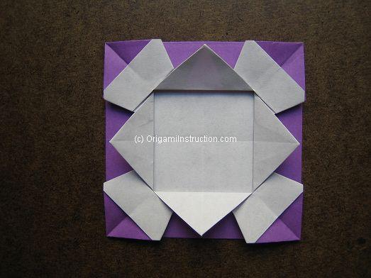 Origami Instruction Com Origami Photo Frame