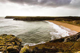 Bahía de Barafundle Gales - Barafundle Bay Wales