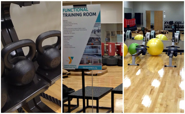 Parker Hannifin @CLEDowntownY functional training room at @TheGalleriaCLE  #LivePlayEat