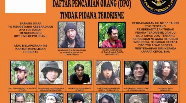 Di Palu, ada 6 orang Uighur yang bergabung bersama kelompok Mujahiddin Indonesia Timur (MIT)