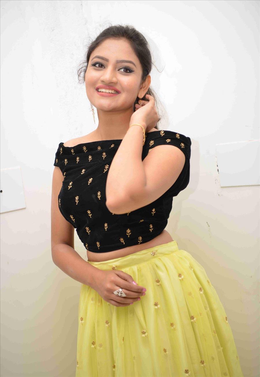 Beautiful Indian Girl Ranjani Raghavan In Yellow Lehenga Choli