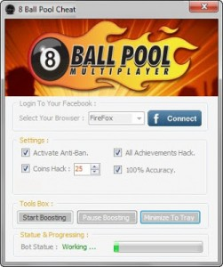 8 ball pool cheat coins achievements hack tool free download