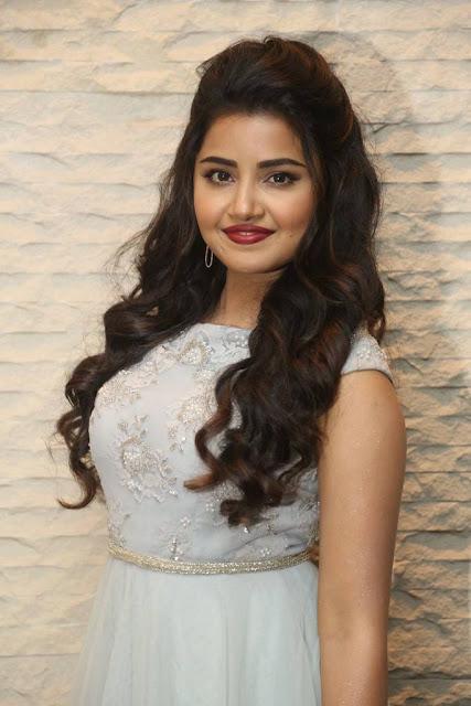 Anupama Parameswaran Stills At Vunnadi Okate Zindagi Movie Pre Release Function