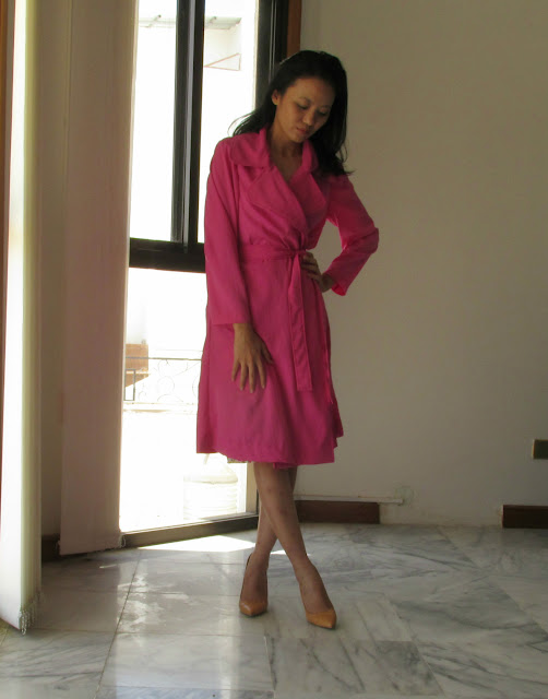 Darlene's Silk coat