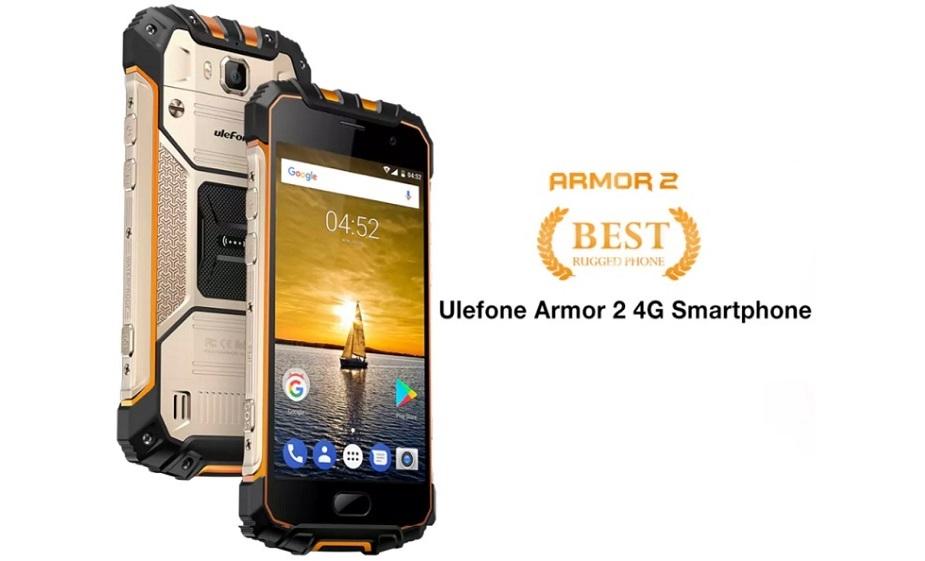 Ulefone Armor 2 4G IP68 Rugged Smartphone