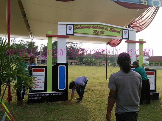 Sambut HUT Desa Mukti Jaya, Warga Gelar Berbagai Perlombaan