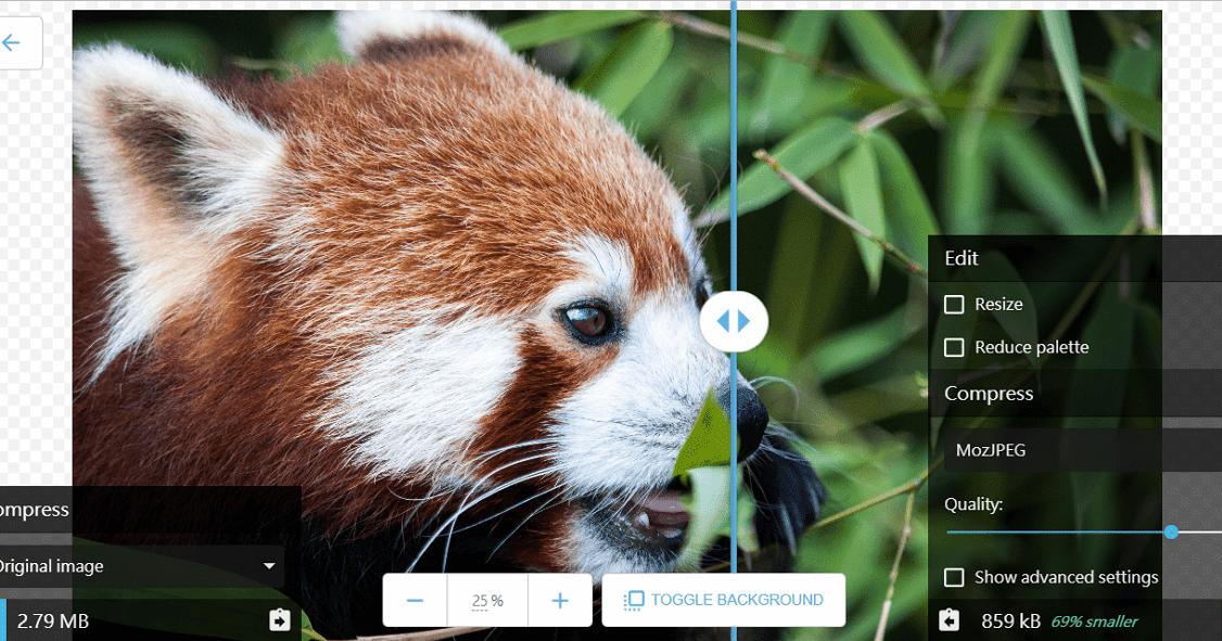 Google 網頁版圖片壓縮工具 Squoosh,支援手機/電腦常用瀏覽器離線可用 - 逍遙の窩