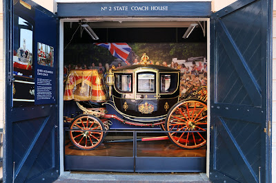 Queen Alexandra's Coach at the Royal Mews, Buckingham Palace
