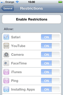 iphone restriction code how to recover or remove an iphone restriction code 12240