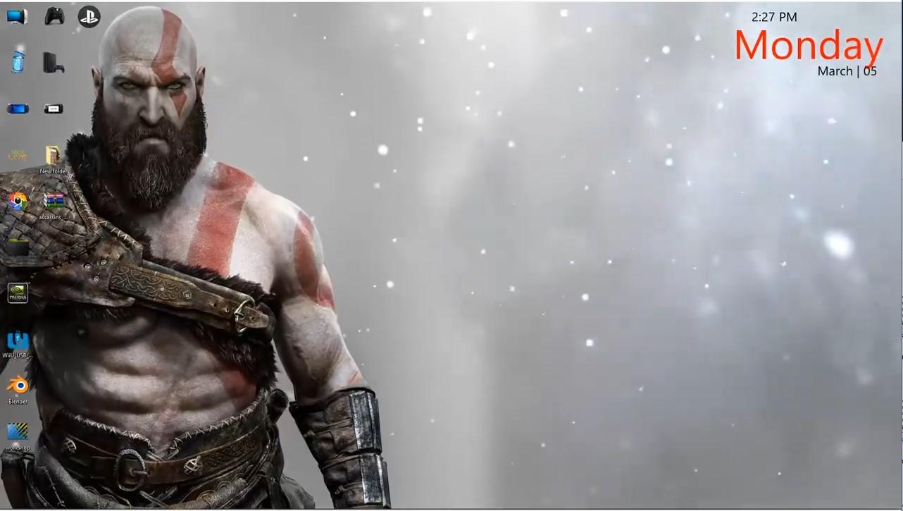 god of war 4 kratos live wallpapers free download ...