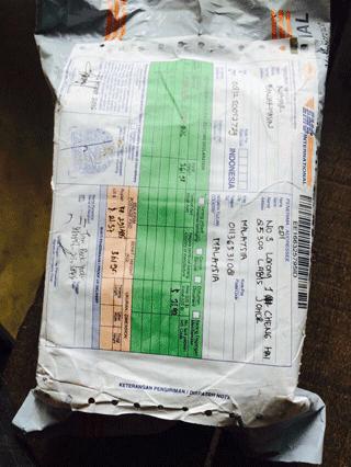 paket pesanan 1