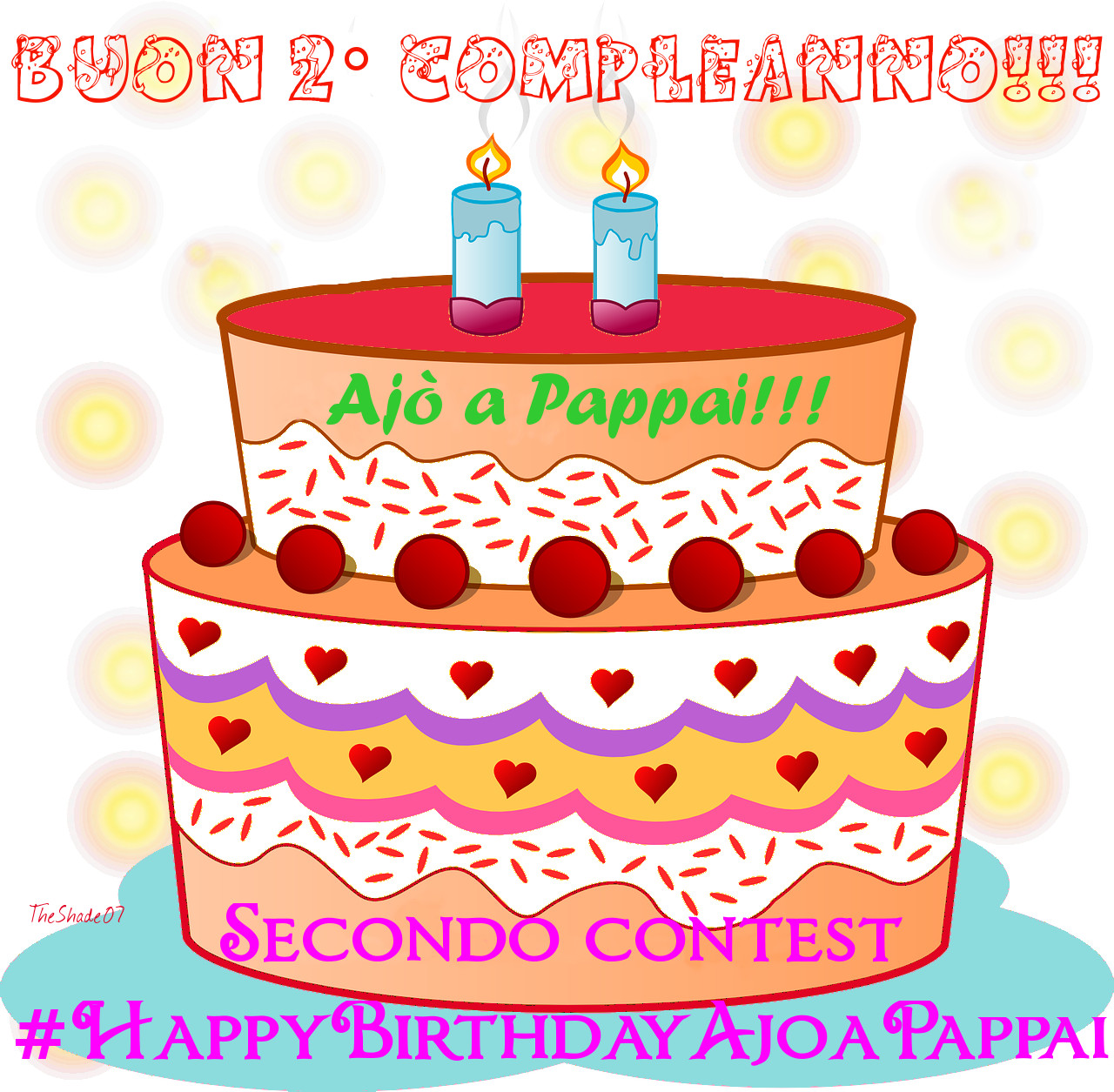 Immagine del logo del secondo contest Happy Birthday Ajò a Pappai!!!