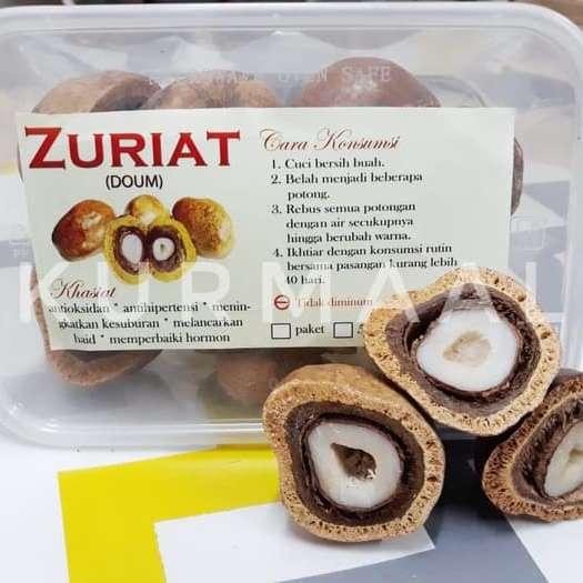 Buah Zuriat/Doum 500 Gr Belah