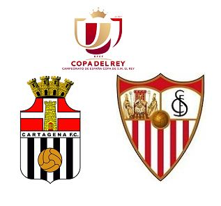 Cartagena vs Sevilla highlights | Copa Del Rey