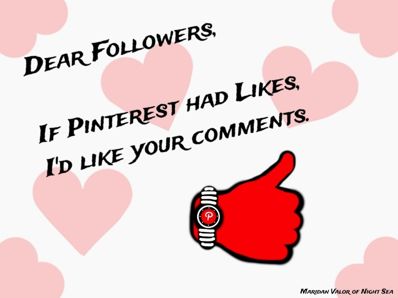 "Wouldn't it be awesome if Pinterest had a way for you to like people's comments on your pins or on other people's pins? All symbols and design were hand drawn and designed by me. If you like this, pass it around Pinterest to let your followers know that you would like their comments if you could. Sometimes there just isn't a reply to a nice comment. ""Hello, not to sound creepy but I like your comment a lot."" ""Hey that comment is awesome."" ""Okay???"" See, it's a bit awkward."