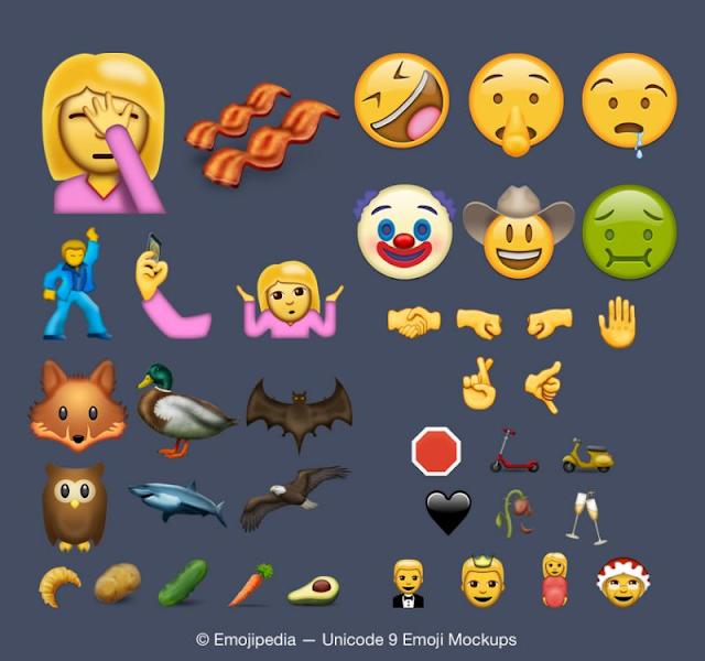 Ini dia Emoji Keren iOs 10 yang sebentar lagi di Rilis