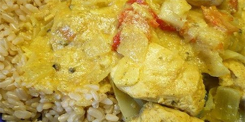 Jurel con Arroz al Curry