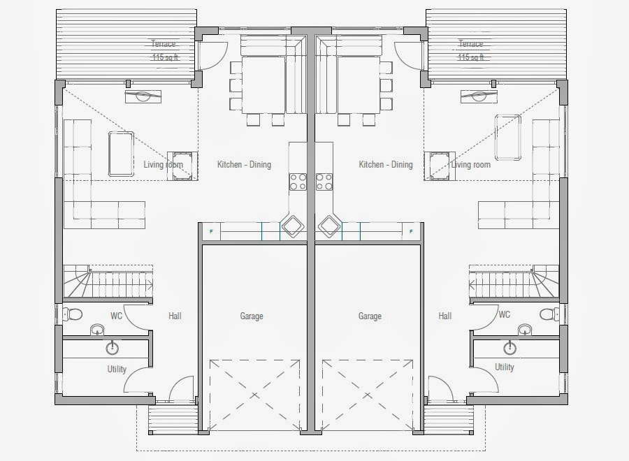 Image Result For Modern House Plans With Large Windows