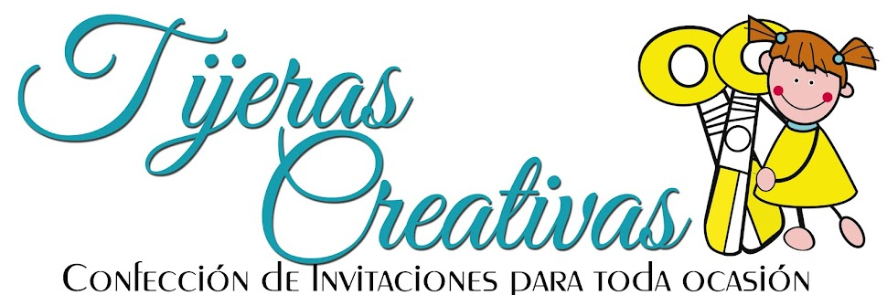 Tijeras Creativas Invitación Baby Shower Safari Rosa